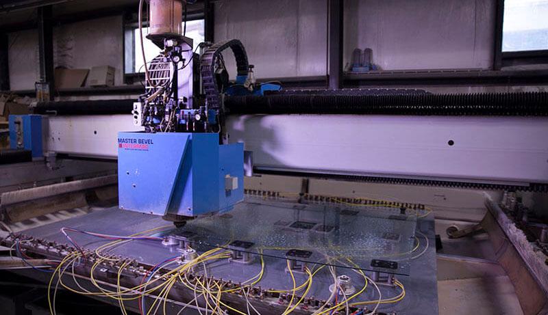 CNC capabilities glass