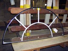 Round insulating glass