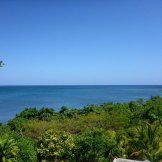 View of the Ocean from the deck at Clearwater Paradise Resort