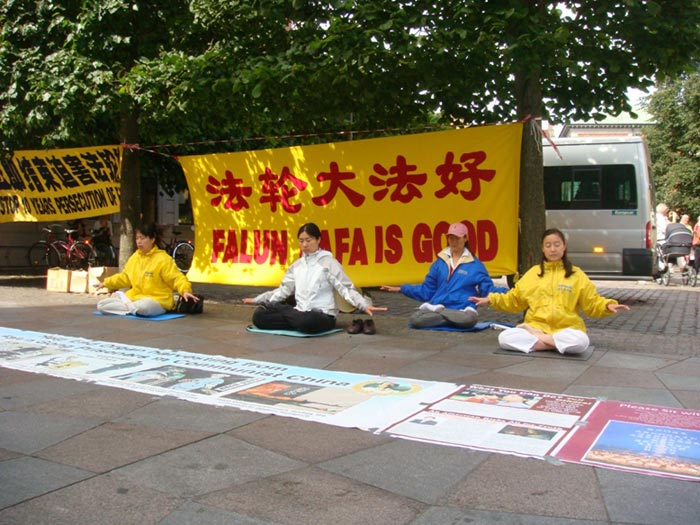 Introducing Falun Gong in Aalborg, the fourth largest city in Denmark