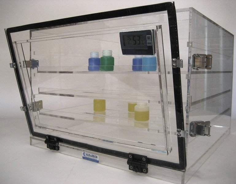 1400 Desiccator Cabinets Clear - Cleatech Scientific