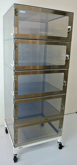 Desiccator Cabinets - Wafer Desiccator Cabinets by Cleatech