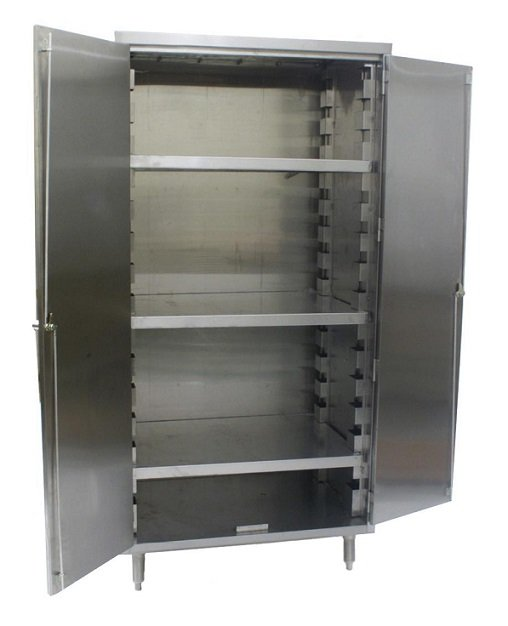 Vertical Storage Cabinet W Flat Top 4 Shelves Vsc2448 4