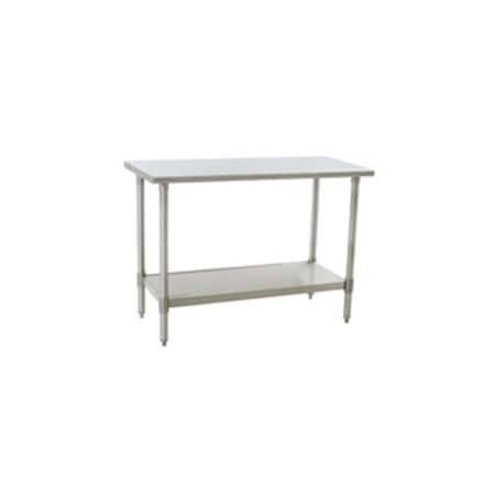Worktables – Flat Top, Stainless Steel