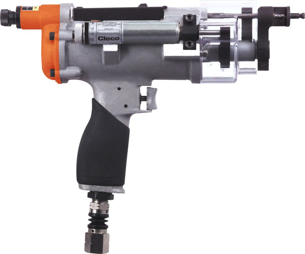 medium resolution of 10q series portable controlled feed nut plate drill
