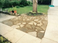 Flagstone Patio Project - CLE Landscaping Co., LLC
