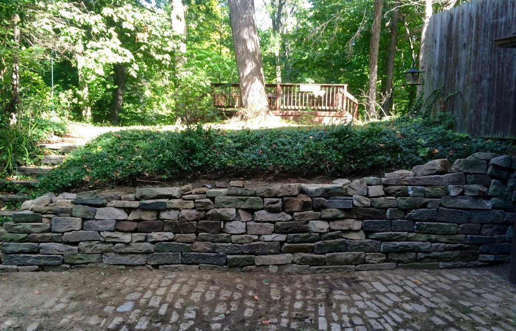 Retaining Wall Repair  CLE Landscaping Co LLC