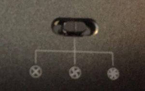 Switch du ventilo
