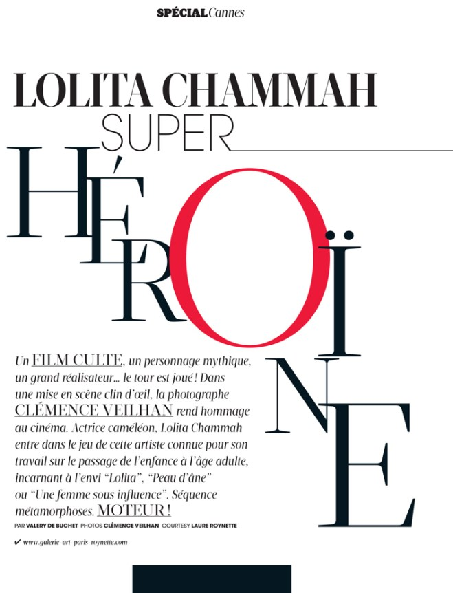 Lolita Chammah, Clémence Veilhan, Lolita