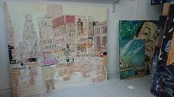 In the studio: Mike Tyson and Paris' sidewalks under the rain