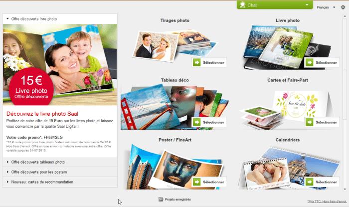 Les produits Saal Digital