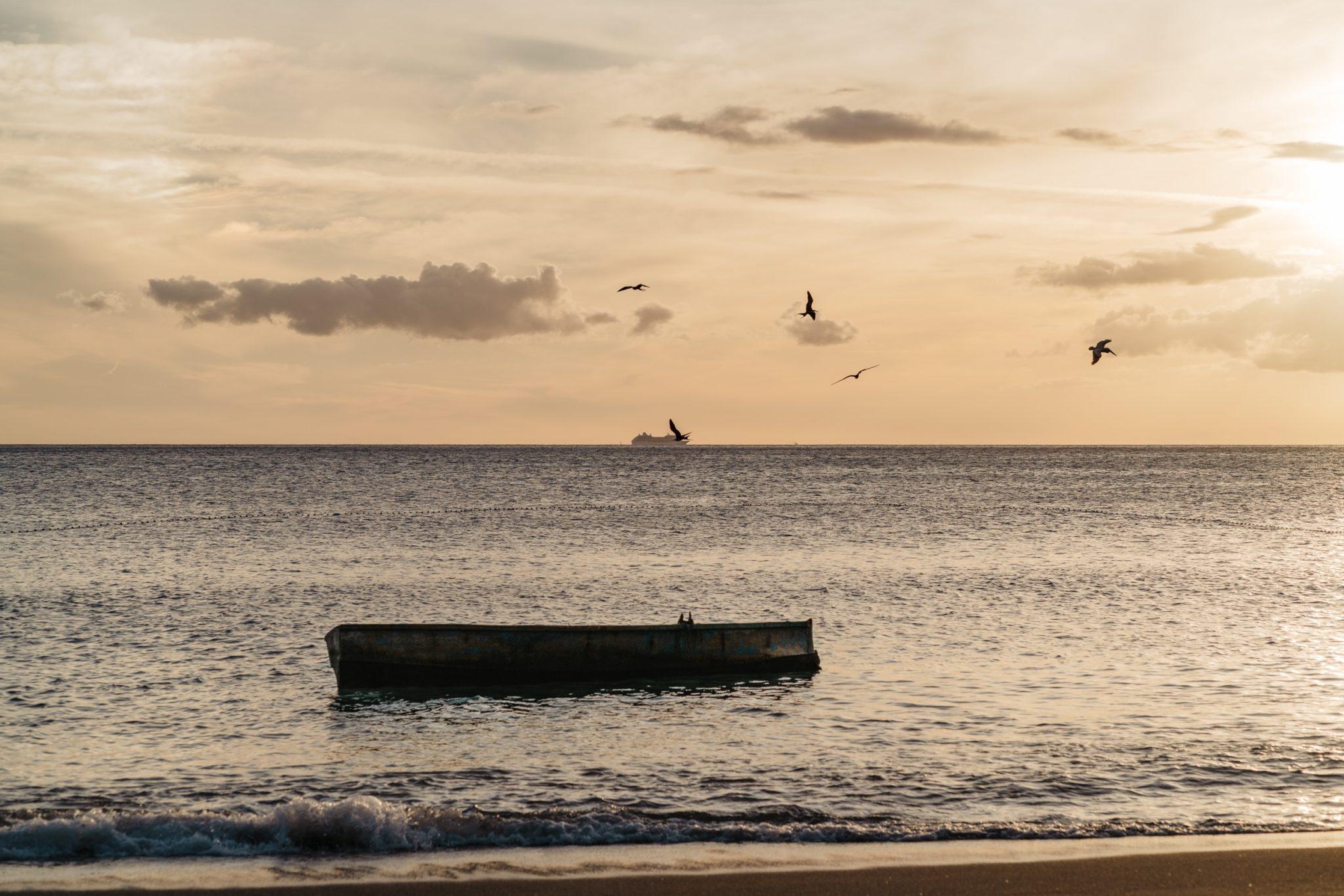 Les pécheurs de la plage de Salisbury, Dominique