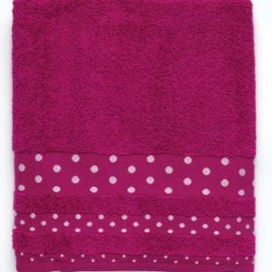 asciugamano+ospite poison colore fucsia