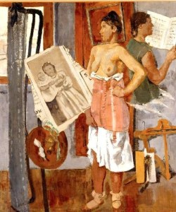 Fausto Pirandello, Interno di mattina