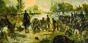 """Giovanni Fattori """"Il Quadrato di Villafranca o la Battaglia di Custoza"""""""