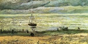 Van Gogh, La spiaggia di Scheveningen