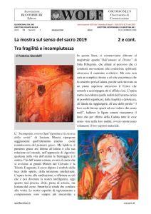 thumbnail of La mostra sul senso del sacro 2019. Tra fragilità e incompiutezza (2)