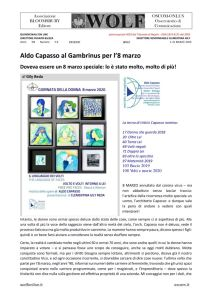 thumbnail of W Aldo Capasso. 8 Marzo al Gambrinus