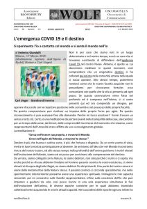 thumbnail of W Giandolfi io e il covid 19