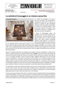 thumbnail of W D'ANTONIO Natività di Caravaggio