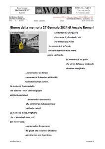 thumbnail of AA W BLEZZA giorno della memoria