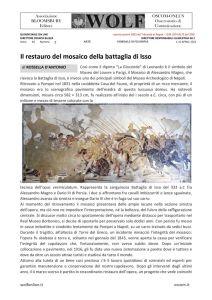 thumbnail of GF D'ANTONIO il restauro del mosaico ISSO