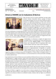 thumbnail of Omero dai libri di Baricco al Museo Archeologico di Napoli