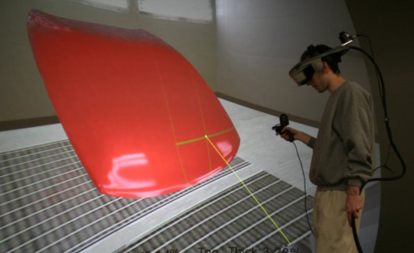 VR Spray Painting for Training and Design | Dr. Clement Shimizu