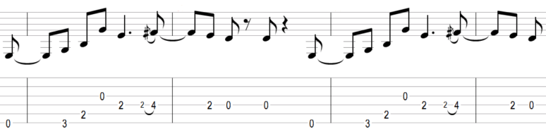 Riff guitare beat it facile apprendre connaître connu simple efficace exemple