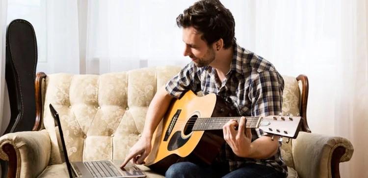 cours de guitare sur internet methode vidéo en ligne web leçon