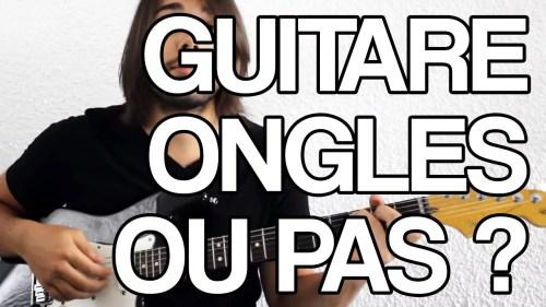 jouer guitare avec sans ongle tuto cours facile vidéo