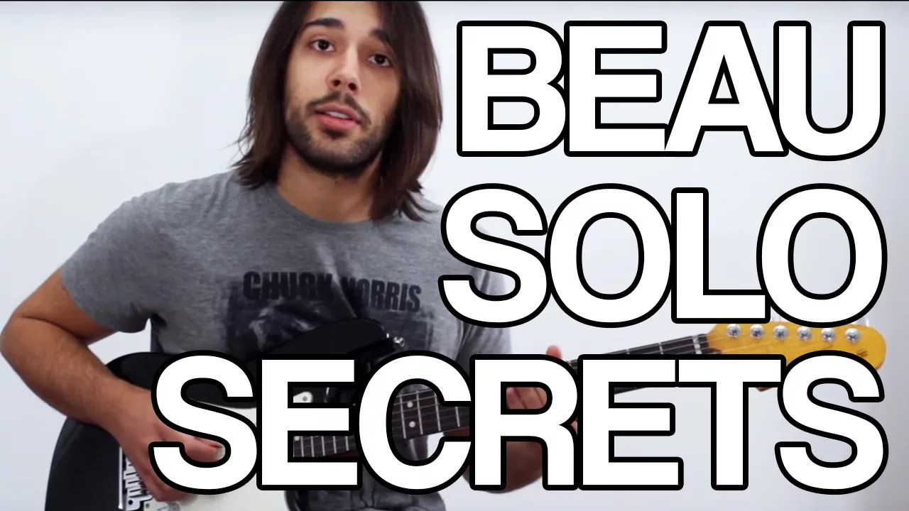 beau solo secret guitare tuto astuce cours vidéo apprendre facile