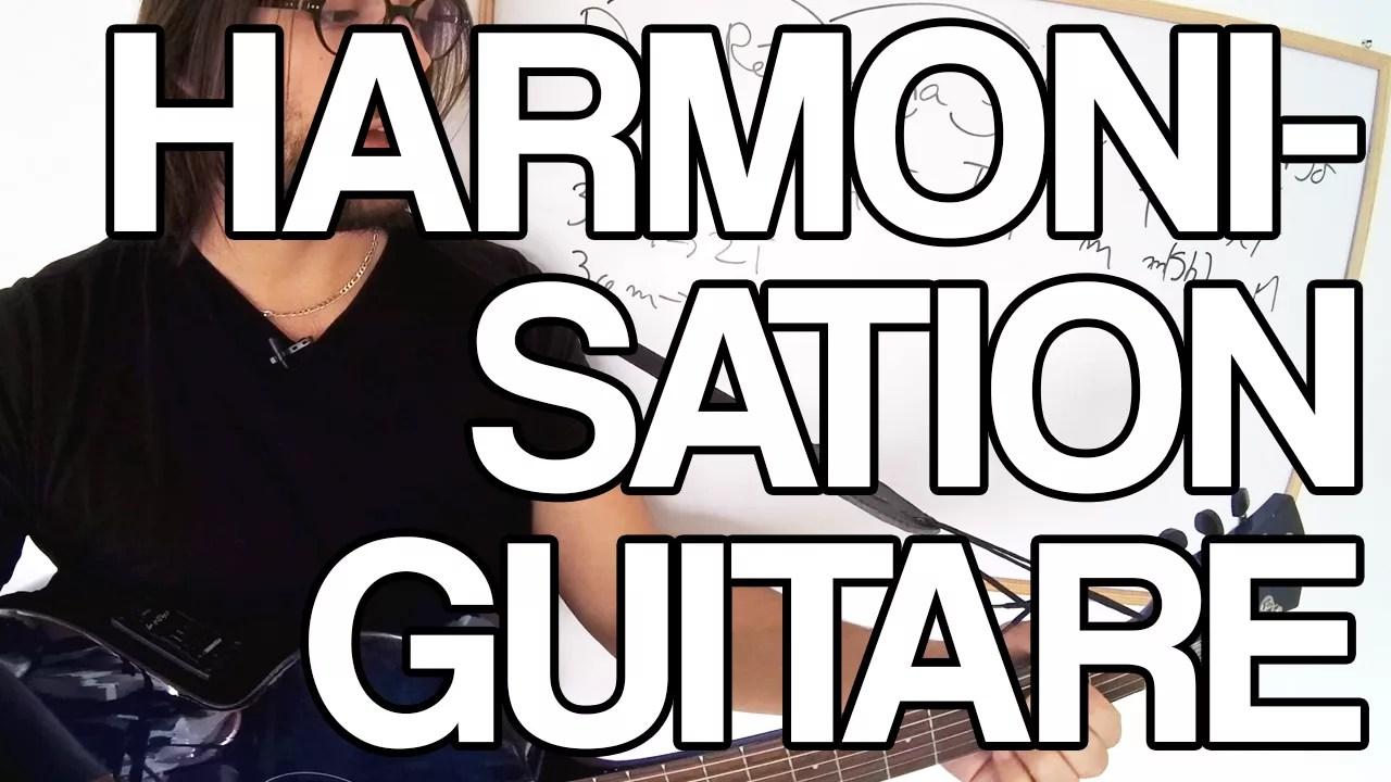 harmonisation de la gamme majeure à la guitare pour retrouver la tonalité d'un moceau il faut apprendre à harmoniser pour voir les accords qui vont ensemble