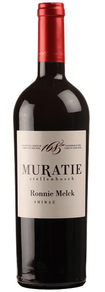 Muratie Premium Range – Ronnie Melck – Shiraz