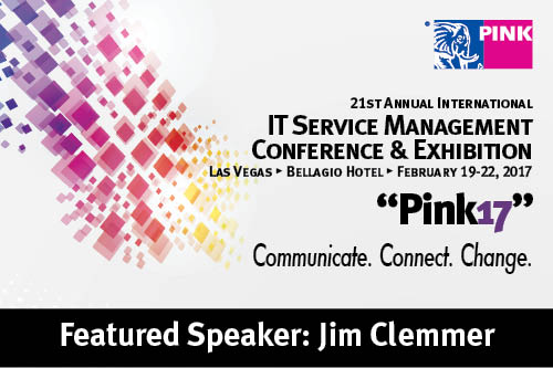 Pink17  IT Service Management Conference  Exhibition  The Clemmer Group