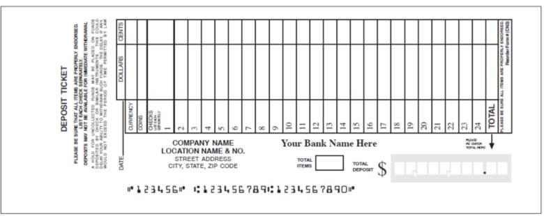 deposit slips example