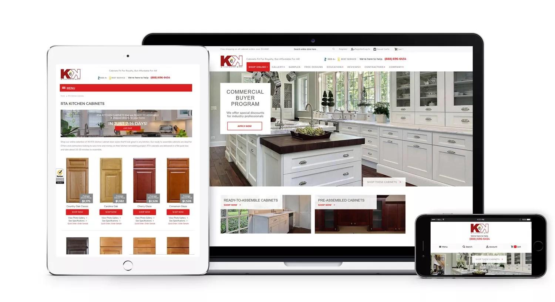 kitchen cabinets greenville sc hardware stores ecommerce website cabinet kings clemson web design