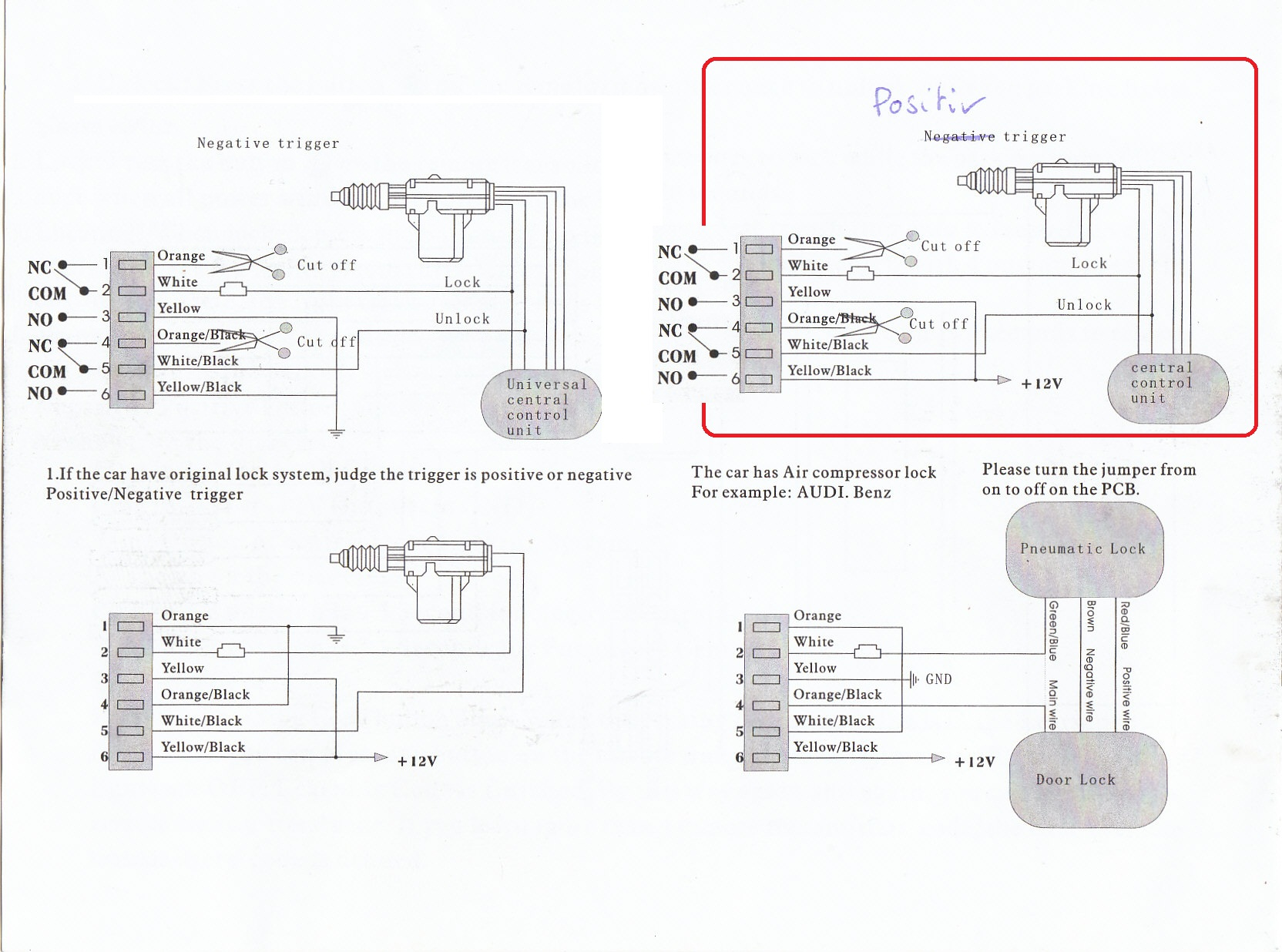 Prestige Remote Car Starter Diagram