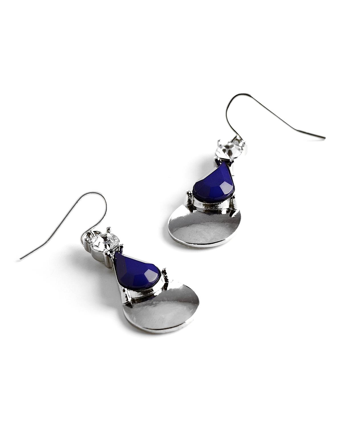 Ocean Blue Teardrop Earring