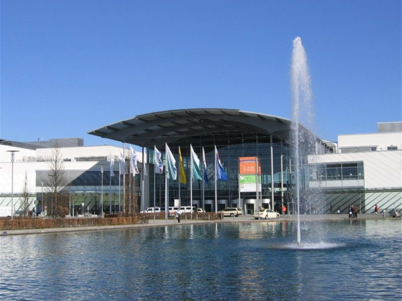 ICM Centre of the  Munich Trade Fair Centre