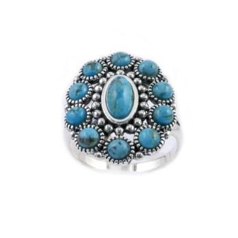 Bague Argent Turquoise