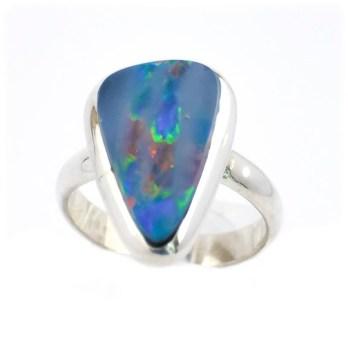 Bague Opale Australie Argent