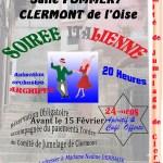 Comité de Jumelage de Clermont - Soirée Italienne - 20150221 - 670px