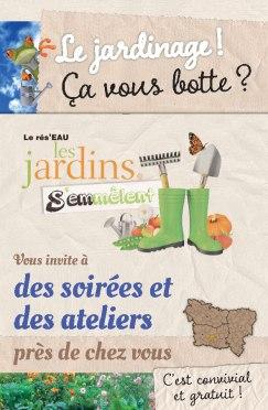 Rés'EAU les jardins s'emmêlent : la permaculture, un certain art de vivre avec la nature, vendredi 14 novembre - Clermont (Oise)