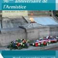 96ème anniversaire de l'Armistice - Clermont (Oise)