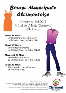 Bourse Municipale Clermontoise - Printemps-Été 2015 - Clermont (Oise)