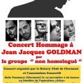 """Concert """"Hommage à Jean-Jacques Goldman"""", vendredi 14 novembre 2014 - Clermont (Oise)"""
