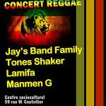 Concert Reggae - 7ème édition, Concert Reggae, samedi 21 février 2015 - Clermont (Oise)
