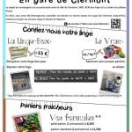 Conciergerie en gare de Clermont et Paniers Fraicheurs - Clermont (Oise)