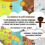 Bibliothèque de Clermont - Raconte-moi une histoire : les histoires de petit bonhomme - mercredi 4 juin 2014 - Clermont Oise